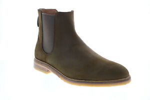 Clarks Clarkdale Gobi 26154296 Mens Green Suede Chelsea Boots