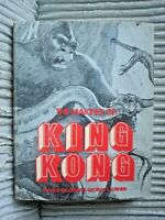 BOOK THE MAKING OF KING KONG FAY WRAY FIRST ED 1975 271 PAGES MOVIE FILM