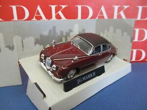 Die cast 1/43 Modellino Auto Jaguar MKII Inspector Morse by Cararama