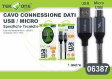 Cavo Dati Usb TeKone 15A Connettore Microusb Micro Usb 1MT Smartphone hsb