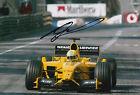 Ralph Firman Hand Signed Jordan Ford F1 12x8 Photo 11.