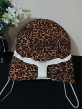 Babyhood bouncer liner-Leopard skin-Funky babyz,Australian made