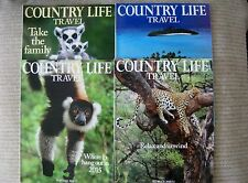 COUNTRY LIFE TRAVEL (UK) 4 WINTER ISSUES 2010/11 2012/13 2013/14 2014/15