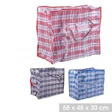 3 Sacs Cabas 84 Litres Multi-Usages à Carreaux en nylon  pour Charge Lourde