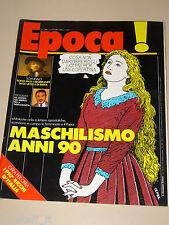 EPOCA=1988/1984=U2=BRUNA LOMBARDI=DALAI LAMA=HIROITO JAPAN=D'AVOSSA=DE MARTINO=