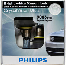 NEW Philips 9006 CrystalVision Ultra Upgrade 9006CVS2 12V 55W Bulbs