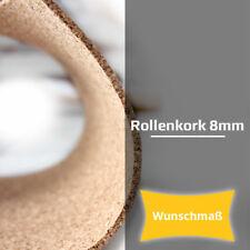 Trittschalldämmung Rollenkork 8 mm Stärke - ca. 20 dB(A) - Wunschlänge Wunschmaß