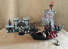 7029 LEGO Complete Castle Skeleton Ship Attack pirate boat Special Edition