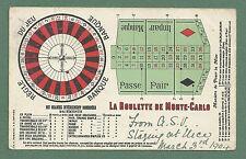 1904 PC ROULETTE STAKES, LA ROULETTE DE MONTE-CARO, GAMBLING