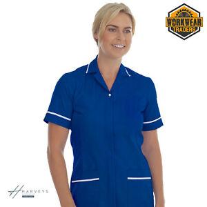 NHS Uniform Nurse Tunic Zip Top Hospital Healthcare Carer Carehome UK Made