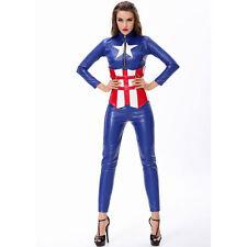 Onorevoli Capitan America Costume Supereroe AVENGERS COSPLAY UK 8 / 10