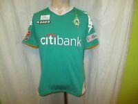 """Werder Bremen Kappa Trikot 2007/08 """"Citibank"""" + gedruckte Unterschriften Gr.S"""