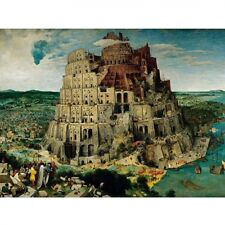 Puzzle 5000 pièces Brueghel : La construction de la Tour de Babel (422)