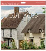 Traditional 2020 Calendar Wall Calender Month View Xmas Gift COTTAGES