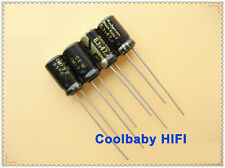 1× Rubycon Black Gate F 47UF 6.3V 6.3*11mm 85°C Audio electrolyticCapacitors