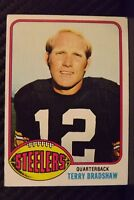 1976 Topps #75 Terry Bradshaw HOF Pittsburgh Steelers / LA Tech (C)