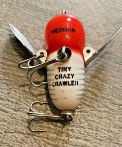 VINTAGE HEDDON TINY CRAZY CRAWLER TOPWATER FISHING  LURE