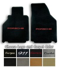 Lloyd Ultimats Carpet Front Floor Mats for Porsche 911 - Choose Color & Logo