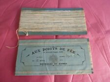 mercerie ancienne dentelle très fine engrêlure pour coiffes emballage d'origine