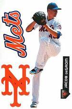 "Jacob Degrom New York Mets Logo Fathead Teammate Sticker Wall Decal 17"""