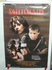 SWEET COUNTRY Jane Alexander JOHN CULLUM  Carol Laure HOME VIDEO POSTER 1987