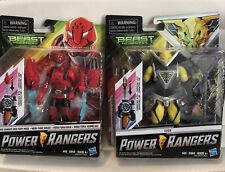 2 Pack Power Rangers Beast Morphers Red Ranger, Evox With Morph-X Key