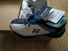 Yonex Power Cushion 35 Men's Badminton Shoes - UK size 8 - White/Blue -Brand New