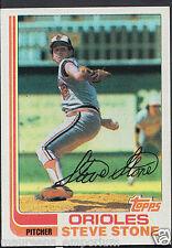 Topps 1982 Baseball Card - No 419 - Steve Stone - Orioles