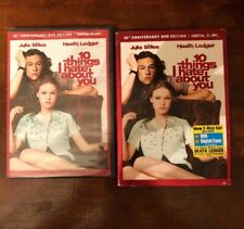 10 Things I Hate About You (DVD 2010 2Disc 10th Anniversary Edition Slipcover