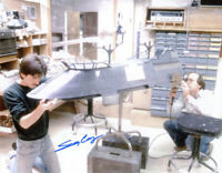 SEAN CASEY SIGNED AUTOGRAPHED 11x14 PHOTO ILM MODEL MAKER STAR WARS BECKETT BAS