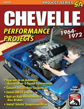 Chevelle Performance Projects: 1964-1972~Project Series Book~LS Swaps~A-arms~NEW