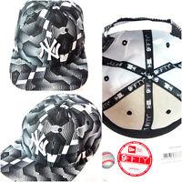 NY New Era Snapback caps, 950 black, flat peak baseball hats, classic, hip hop