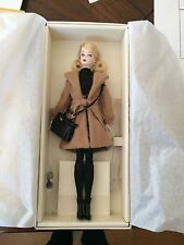 Barbie Silkstone Fashion Model Collection Classic Camel Coat Doll NEW