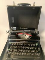 Vintage Underwood Champion Typewriter Case 1930's G881364 Model Portable Manual