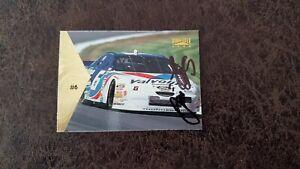 1996 Pinnacle Jimmy Fennig #6 - NASCAR - Autographed!