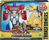 Hasbro Transformers Cyberverse Power of The Spark Armour & Optimus Prime New!