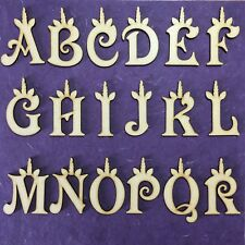 Unicorn Wooden Letters Decoration Art Craft Shape Toy Box Name Letter Plaque MDF
