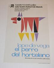 Theater Poster Art.Home or Room Decoration.El perro del Hortelano.Lope de Vega