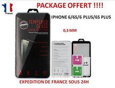 ★ Vitre de Protection en Verre Trempée film protecteur pour Iphone 6 6S 6+ 6S+ ★