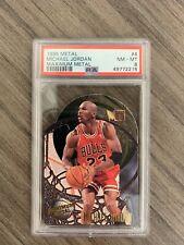 Michael Jordan 1995 Metal Maximum Metal PSA 8 MVP HOF CHICAGO BULLS INVEST