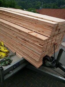 Terrassendielen Glattkantbretter Douglasie 100 Stück