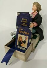 Vintage Harry Potter Figurine Photo Picture Frame Hermione Granger Book Hallmark
