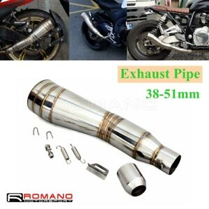 Universal 38-51MM Motorcycle Exhaust Muffler Pipe Escape For Honda CB 900 Ducati