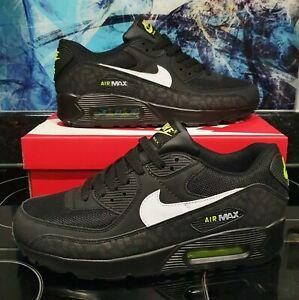 Nike air max 90 Black/Green/White Uk Size 6