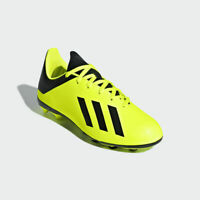 Adidas Kids X 18.4 FG Soccer Cleats Solar-Yellow/Black DB2420 Youth Choose-Size