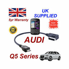 AUDI Q5 Series 4F0051510M Cable For BLACKBERRY Q10 MICRO USB Audio cable 30cm