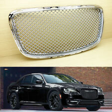 2015~2019 Fit Chrysler 300 300C Front Kidney Grille Grill Chrome Bentley Style