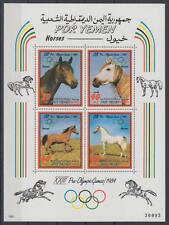 Jemen (Südjemen / Yemen) - Michel-Nr. Block 11 postfrisch/** (Olympiade / Pferde