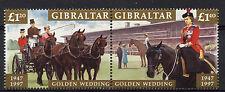 Gibraltar 1997 Golden Wedding MNH Set #A78634