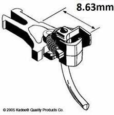 More details for kadee #18 magnetic knuckle couplings european nem 362 short 8.63mm x 2 pairs 1st